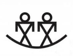 The Brothers symbol is depicted in almost every creation story among the Native American Indians. Depicted in the Mississippian culture of the Mound Builders are also referred to as a heroes in Siouan traditions. The brothers are the sons of the deity Red Horn and strongly feature in the creation myth in the role of protectors.