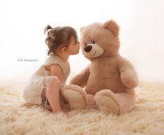Children Studio Photography, 2 Year Old Girl Photography, Toddler Girl Photography, Toddler Photography Girl, Teddy Bears, Photography Dream, ...