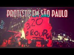 R$3,20 É Roubo - Protesto em SP - EMVB - Emerson Martins Video Blog 2013