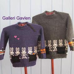 Hokus pokus trøjen (opskrift) af Edith Nielsen
