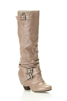 Wraparound Belt Detail Boot