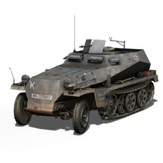 SD.KFZ.250/1 - Half-track troop carrier