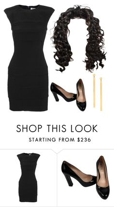 daily show jasmine by juliamargaretc on Polyvore featuring #Lana #Blake #BarDropEarrings from #JRDunn