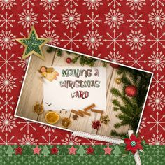 Created with Christmas Joy by Connie Prince and font Brewsky.