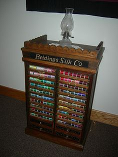 Vintage Thread Case #sewing #quilting