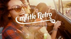 mTitle Retro plugin for #FCPX & #Apple #Motion5 - http://ow.ly/UNyj6 #FinalCutProX #VideoEditing #MotionDesign