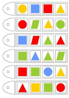 Preschool Age, Preschool Learning Activities, Kids Learning, Sudoku, Learn To Count, Educational Games, Matching Games, Geometric Shapes, Pattern