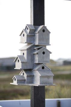 Bird Condo by Bloomingville: http://tinyurl.com/4663q6t
