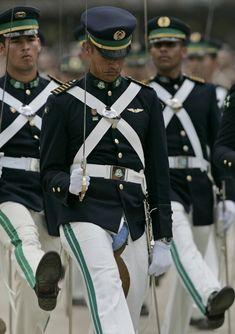 Military parade fail