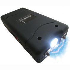 Terminator 15,000,000 V Stun Gun with LED Flashlight Terminator.,http://www.amazon.com/dp/B0058DBSMI/ref=cm_sw_r_pi_dp_HbPutb1FVAGHGKGY