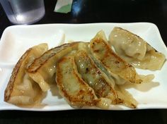 Pork Gyoza from Sapporo Ramen in Cambridge, MA