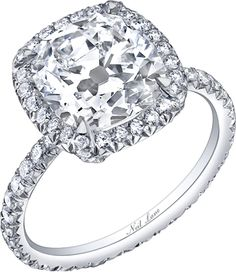 Neil Lane Cushion Cut Diamond