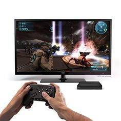 Amazon Fire TV Gamers Bundle with Fire Game Controller, HDMI cable, and Free Sev Zero and Paper Monsters Recut Games