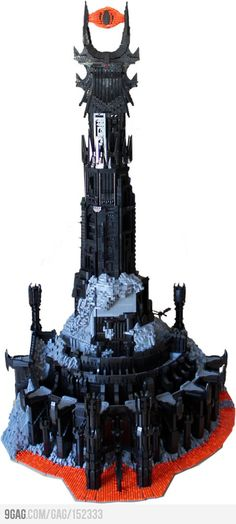 LEGO Mordor. This is just amazing!!!
