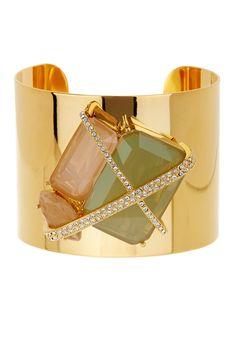 Louise et Cie Jewelry Cage Cuff Bracelet