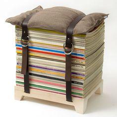Lilli Green® Shop - HOCKENHEIMER mit Lederbändern - Möbel - Wohnen