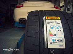 #Car_tyre_service_ΚΑΛΟΠΟΥΛΟΣ Αντικατάσταση ελαστικών #Pirelli σε #Porsche_Carrera_S #Ελαστικα #elastika #Kalopoulos #Tyres #Thessaloniki