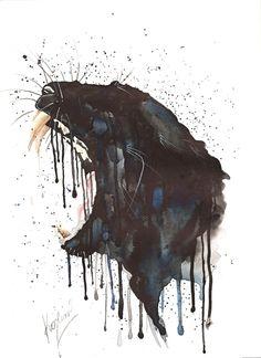 black panther drawing - Google Search