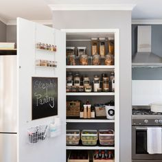 We& curated some of our favourite indoor projects to keep you busy while you& at home. Check out the DIY Daily! Kitchen Organization Pantry, Bathroom Organisation, Kitchen Storage, Kitchen Pantry Design, Home Decor Kitchen, Home Kitchens, My New Room, Diy Bedroom Decor, Cozy Bedroom