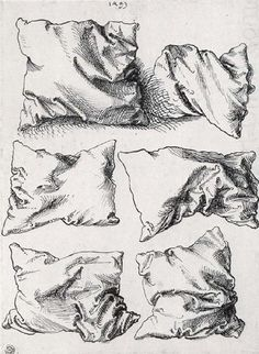 Carabaas — «Albrecht Dürer, six pillows, pen an ink on paper, n.d.» на Яндекс.Фотках