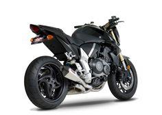 Honda CB1000R Black with exhaust