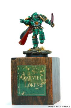 Loken is my favorite character from the Horus Heresy books. This model is spectacular!