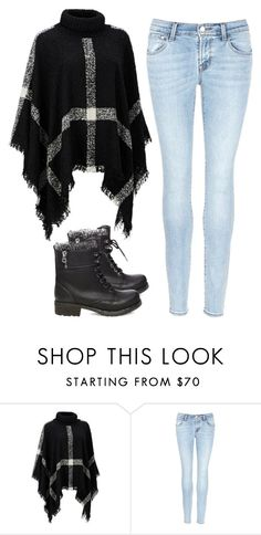 """""""Untitled #42"""" by flying-tiger ❤ liked on Polyvore featuring Jessica Simpson, J Brand and Steve Madden"""