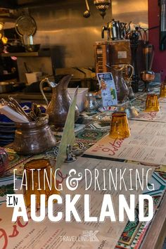 Eating & Drinking in Auckland, New Zealand