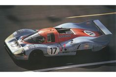 24 heures du Mans 1971 - Porsche 917 #21- Pilotes : Vic Elford / Gérard Larousse - Abandon