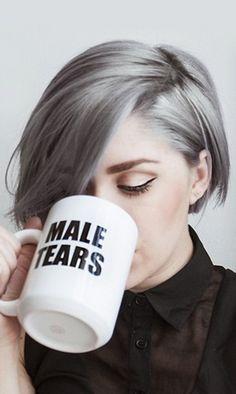 Hahahha that coffee mug ♡