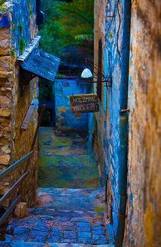 La colonia de los artistas en Safed (Tzfat) es uno de los lugares con mas encanto y pintorescos del maravilloso estado de Israel. La imagen no deja lugar a dudas.