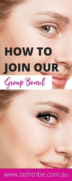 Click the image & comment if you want to join our group board. Eyelash Extensions Before And After, Eyelashes, Join, Group, Board, Image, Lashes, Planks