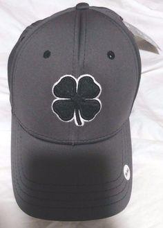445031ec69c23 2017 Black Clover Premium Clover Hat   22 Size S M Black White Charcoal