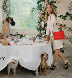 Cara Delevingne w kampanii Mulberry wiosna-lato 2014, fot. Tim Walker
