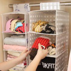 New Designer Waterproof Wall Hanging pocket organizer Closet Storage Hanger Wholesale 1 pcs per Set 3/4/5 Pockets Free Shipping