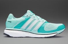 adidas Womens Energy Boost 2 ESM - Womens Running Shoes - Frost Mint-Zero  Metallic-Vivid Mint