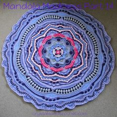 """Mandala Madness Part 14 Did you ever play hop scotch as a kid? Well this week you are going to be hopping up and down, so make sure you jump to the right round! Are you ready for a workout? Ok so it's not as bad as it sounds, but as Esther always says """"keep your wits about you"""". YourContinue Reading"""