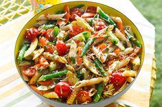 recette de Salade de pâtes aux légumes - Kraft Canada