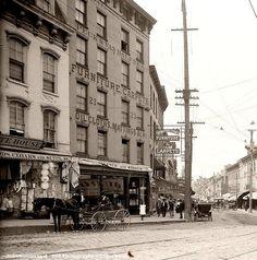 Water Street, Newburgh, N.Y. Date: 1906.