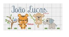 Mini One, Cross Stitch, Abs, Comics, Apollo, Animals, Toddler Chart, Punto De Cruz, Dots