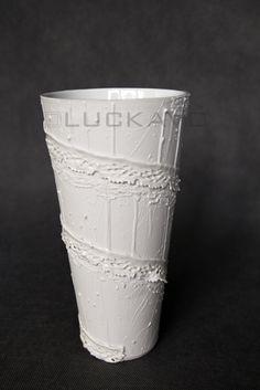 Baroque - porcelain decoration by lace Lace Vase, Baroque, Porcelain, Pure Products, Elegant, Luxury, Decoration, Classy, Decor