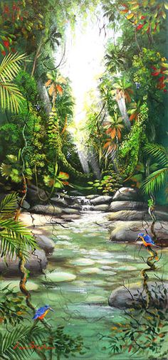 Ian Stephens ~ Life in the Rainforest