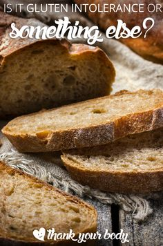 Wondering if your gluten intolerance symptoms are really connected to gluten. An important look at what else could be giving you grief.
