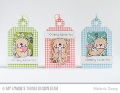 Tag Builder Blueprints 4 Die-namics, Otterly Love You Stamp Set and Die-namics, Once Upon a Time Stamp Set and Die-namics - Melania Deasy  #mftstamps