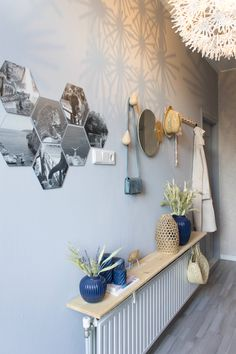 Our scandinavian hallway onze scandinavische hal interieur in 2019 - house Home Decor Bedroom, Interior Design Living Room, Living Room Decor, Style Bali, Most Comfortable Bed, Bright Rooms, Hallway Decorating, Cheap Home Decor, Decoration