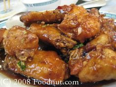 Dry fried chicken wings - San Tung (SF)
