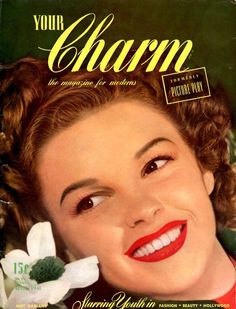 Judy Garland, i want to read your charm magazine.