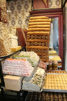 Sweets shop . Istanbul