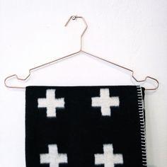 Via Boligheter | HAY Hanger | Pia Wallen Cross Blanket