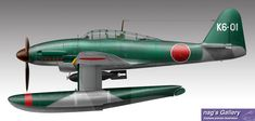 M6A 晴嵐 Ww2 Aircraft, Military Aircraft, In The Air Tonight, Imperial Japanese Navy, War Thunder, Flying Boat, Ww2 Planes, Army & Navy, Aviation Art